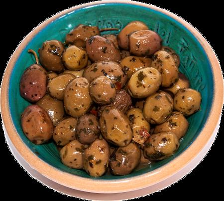 olive salamoia caserecce